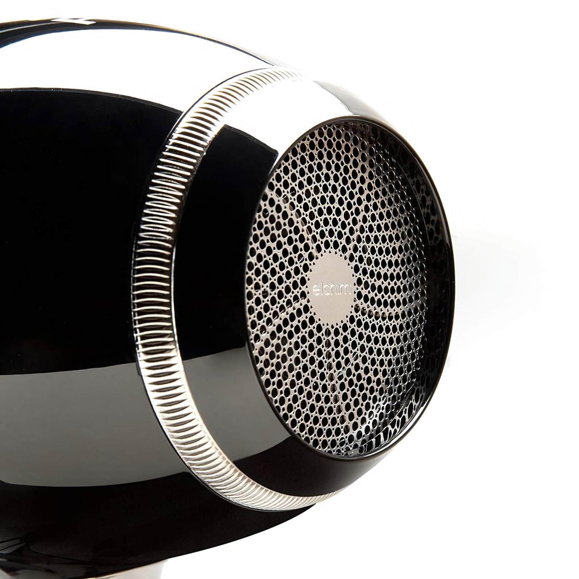 Hairdryer Design Elchim RUN disegnato da CASINI STUDIO INDUSTRIAL DESIGN dettaglio ghiera filtro