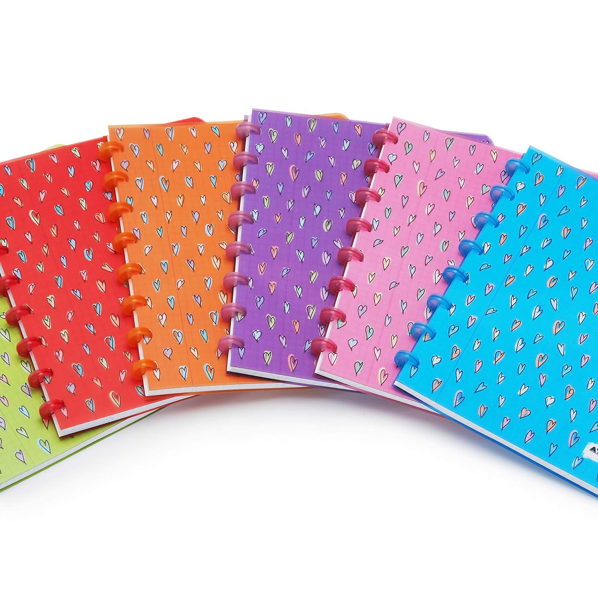 NoteBook Graphic Design Atoma Hearts Casini Studio