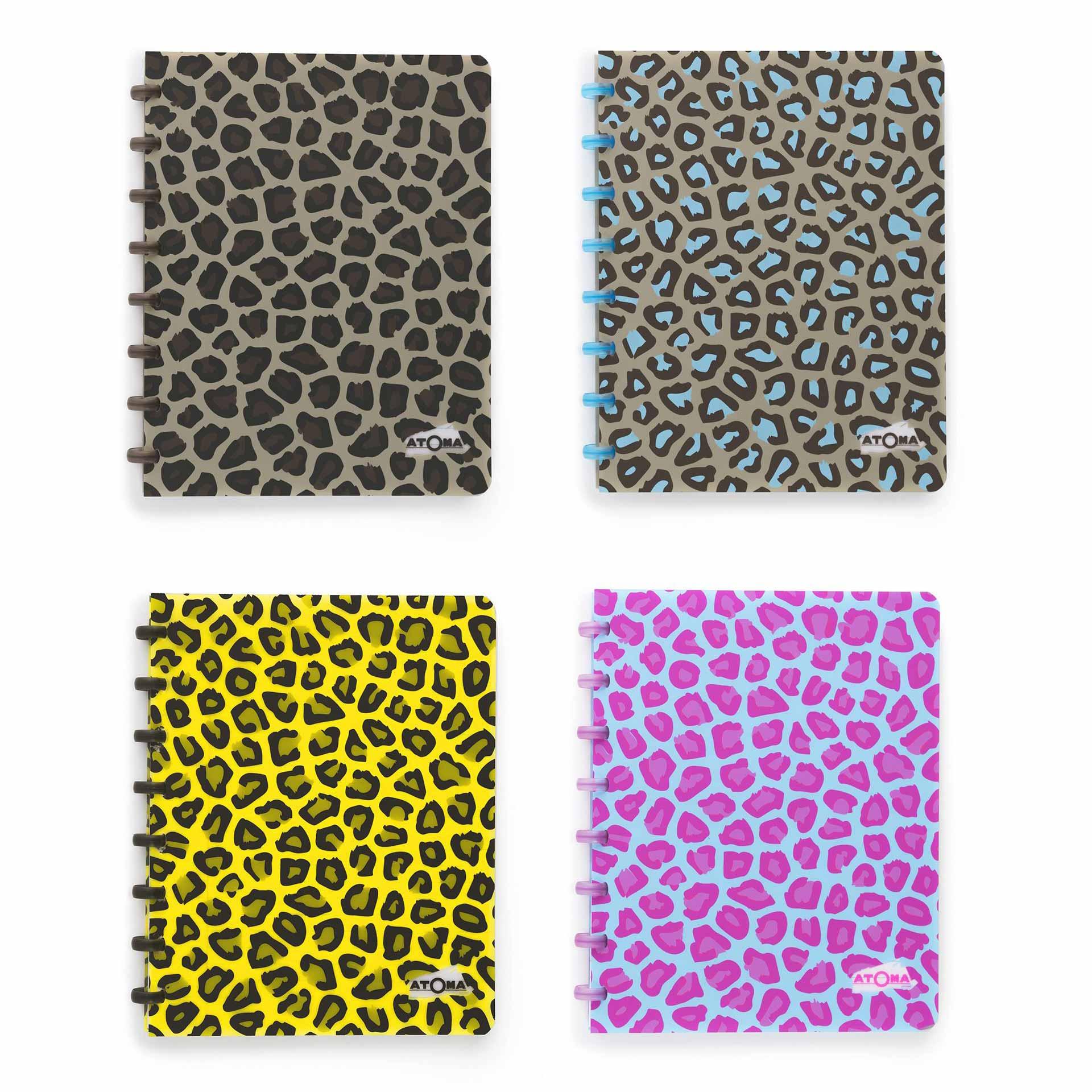 Atoma Leopard Graphics design CASINI STUDIO